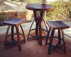 Whiskey Barrel Chairs Handmade Whiskey And Wine Barrel Recycled Furniture