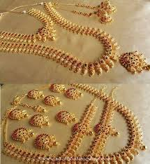 bridal wedding necklace set images Artificial bridal mango necklace sets south india jewels jpg