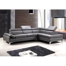 position canap canap d angle en cuir gris 4 avec canape achat vente et blanc design