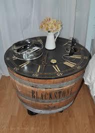 Wine Barrel Bar Table Useful Diy Ideas How To Use Old Wine Barrel