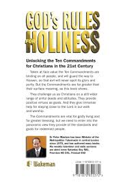 god u0027s rules for holiness unlocking the ten commandments peter