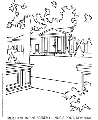 memorial day coloring pages us merchant marine academy coloring