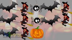 halloween for kids cartoons learning patterns for children in