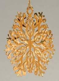 danbury mint 1985 gold ornament collection at
