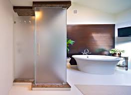 Barn Door Style Sliding Doors by Barn Door Style Shower This Mission Viejo Home Needed Shower