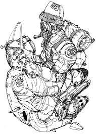 sketch to illustrator on behance