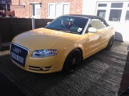 my new a4 b7 cabrio in a very rare colour audi sport net