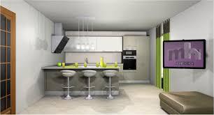 deco salon ouvert sur cuisine ravishing decoration cuisine salon design piscine de impressionnant
