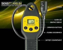 sensit hxg 2d combustible gas detector