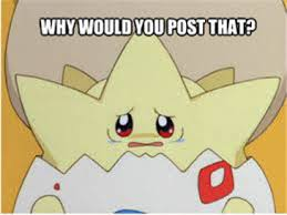 Professor Farnsworth Meme - sad togepi pokemon meme