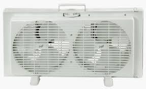 Comfort Zone Heater Fan Comfort Zone 9 Inch Portable Twin Window Fan The Warming Store