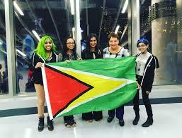 Gayana Flag Guyana Is Represented At The 42nd Olympiad U2013 Stabroek News