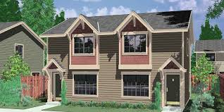 narrow lot house plans craftsman narrow lot duplex house plans narrow and zero lot line