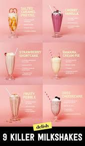 16 best milkshake recipes how to make a homemade milkshake