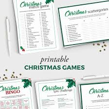 christmas party game christmas movie match up fun holiday