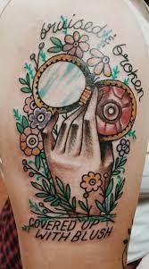 title fight tattoo