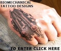 biomechanical tattoos and designs page 51