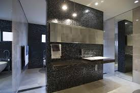Modern Contemporary Bathroom Mirrors by Bathroom Design Bathroom Modern Contemporary Bathroom Black
