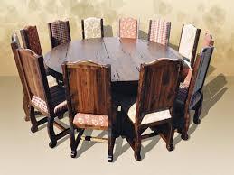 Rustic Round Dining Table Rustic Round Dining Table Create Warm - Large round kitchen table