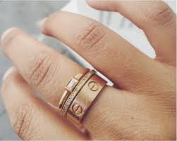 cartier love rings images Cartier love ring stack drool accessories pinterest jewelry png