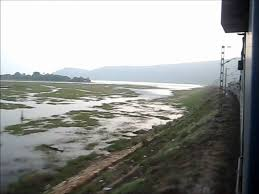 eastern ghats chilka lake and eastern ghats at sunset view from the falaknuma