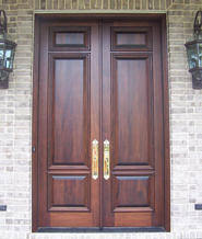 Chokhat Design Wooden Double Front Exterior Entry Doors Wood