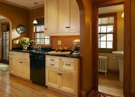 Kitchen Wall Colors With Maple Cabinets Simple Natural Maple Kitchen Cabinets L Inside Design