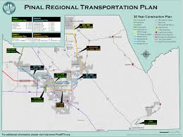 Apache Junction Az Map Officials Say U0027hard Work Begins U0027 On New Pinal Road Projects Area