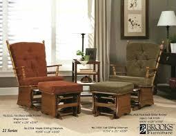 living room glider living room glider rockers brooks furniture post back glider rocker