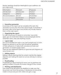 template for summary report sle executive summary fieldstation co