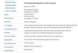 resignation letter sample word doc cover letter sample for