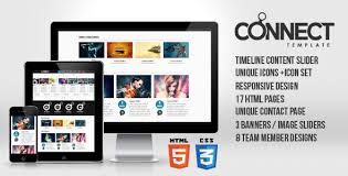 download layout html5 css3 connect responsive template html5 css3 jquery html others