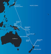 Vanuatu Map South Pacific Expedition Cruise Png Vanuatu U0026 The Solomons