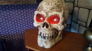 home depot halloween lights large halloween skulls from home depot youtube