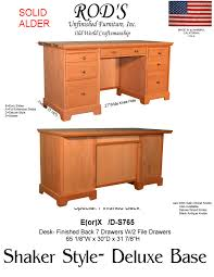 Bush Furniture Wheaton Reversible Corner Desk by Black Desk With Drawers On Both Sides Muallimce