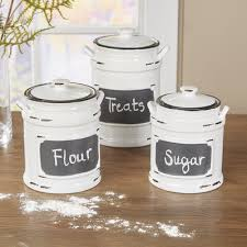 white kitchen canisters farmhouse kitchen canisters 4 jar ceramic canister set