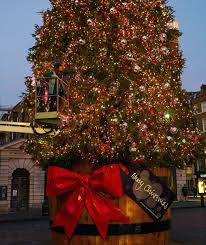 covent garden u0027s christmas tree london u0027s christmas lights 2015
