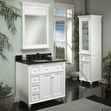 White Vanity Cabinets For Bathrooms Black And White Bathroom Vanity Thesouvlakihouse Com