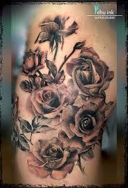 roses black and grey tattoo elle gottzi fehu ink u2013 fehu ink