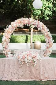wedding backdrop arch circle of arch lake backdrop made the ceremony like a