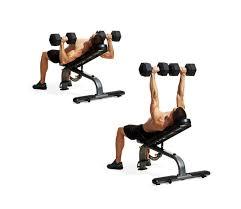 incline dumbbell bench press men u0027s fitness