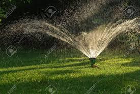 watering garden sprinkler irrigation system technique of
