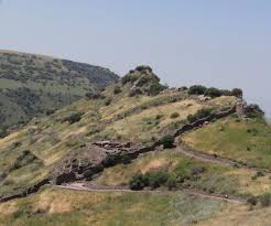 romans on the roofs of gamla סגולה