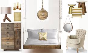 beautiful lamps hanging on sides of the bed for beautiful sleep