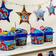 transformer party supplies transformers birthday party and blue jello cubes use green