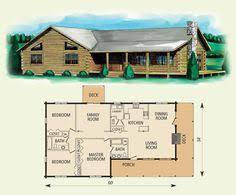 cherokee log home and log cabin floor plan 780 sf build