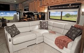 winnebago rv features extendable sectional sofa photos