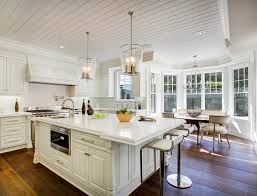 Kitchen Light Pendants Los Angeles Family Home With Transitional Interiors Home Bunch