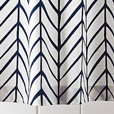 White And Navy Curtains Projects Inspiration Black And White Geometric Curtains Navy