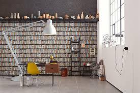 sch ner wohnen jugendzimmer schöner wohnen non woven wallpaper bohemian rapsody brown metallic